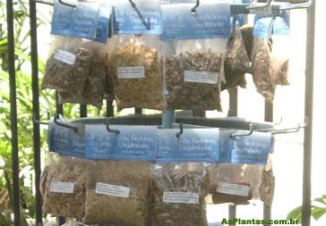 Plantas Medicinais desidratadas